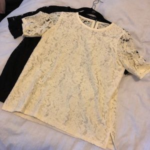 Madewell lace T shirt new without tags!